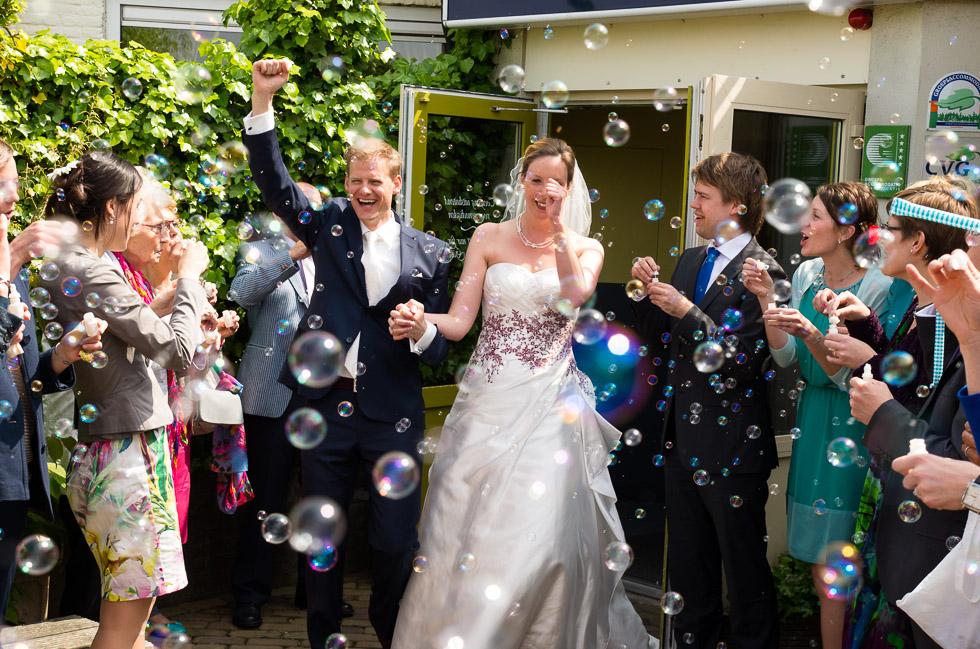 Bruiloft Roel en Nina