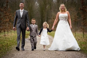 Bruiloft Sandra en Sander
