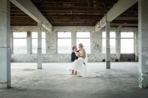 Bruiloft Johnnie en Erica