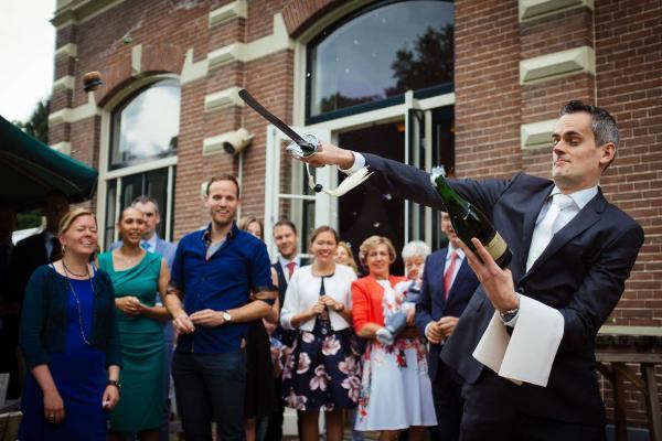 Bruiloft Paul en Dianne